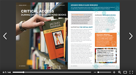UCI Libraries increase efforts to make digital collections visitble and accessible.